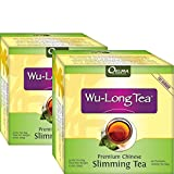Premium Chinese Slimming WuLong Tea - All-Natural Weight Loss, Diet, Detox and Anti-Acne Oolong tea - Pure WuYi Oolong - 2 month supply with 120 tea bags