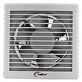 WADBROS 30-Watts Window or Glass Exhaust Fan (White)