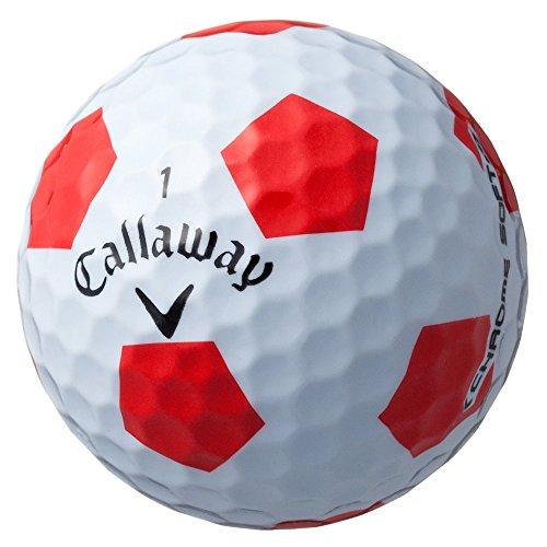 『Callaway(キャロウェイ) ゴルフボール CHROME SOFT TRUVIS 1ダース(12個入り) 2016年モデル ホワイト』の2枚目の画像