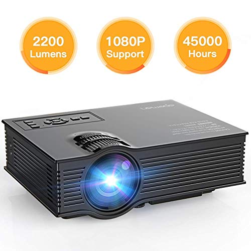 APEMAN Proyector, Multimedia Vídeo Proyector LCD,...