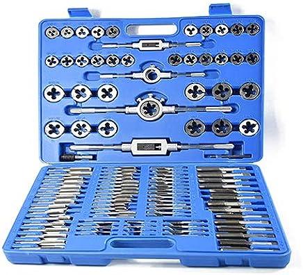 110PC Tap und Das Set für Metallbearbeitungs-Handwerkwerkzeug Tap Wrench Die Wrench Set B07Q1WCVGF | Neueste Technologie