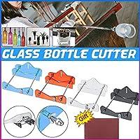 ツールプロフェッショナルガラスびんカッターDIYボトルクラフト切削工具ガラスカッターマシンをボトルWinee 裁断用品 (Color : Red)