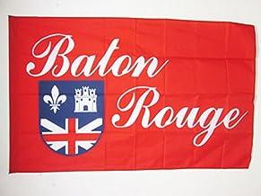 AZ FLAG City of Baton Rouge Flag 3' x 5' for a Pole - Bâton-Rouge in Louisiana Flags 90 x 150 cm - Banner 3x5 ft with Hole