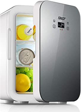 Mesurn Mini Fridge with Cooler and Warmer, 12 Liter Large Capacity Portable Compact Fridge, Super Quiet In-Vehicle Freezer for Cars, Homes, Offices, and Dorms