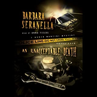 An Unacceptable Death  audiobook cover art