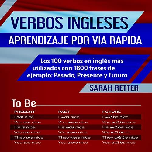 Diseño de la portada del título Verbos Ingleses: Aprendizaje por Via Rapida [English Verbs: Fast Learning]