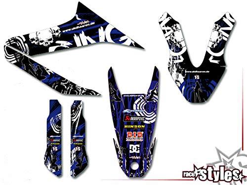 Yamaha WR 125R !!! Premium Factory DEKOR Decals Sticker Aufkleber KIT 09-17