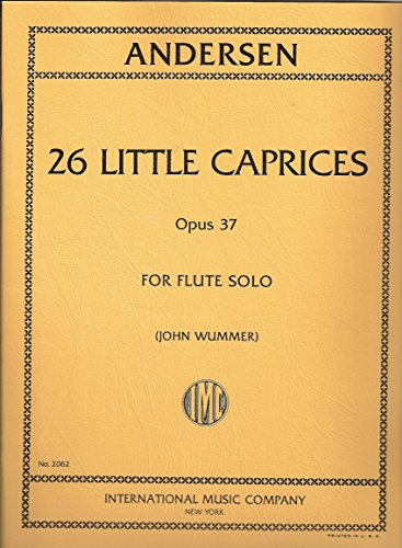 Andersen 26 Little Caprices Opus 37 For flute solo