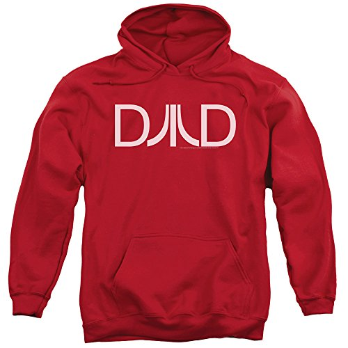 Atari Dad Hoodie. Ideal Christmas Gift, Official Design, Red S to 3XL