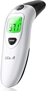 Baby Forehead and Ear Thermometer for Fever Body Digital Medical Infrared Basal Thermometer for Infant, Baby, Kids, Child and Adults