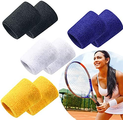Fashion Towel Wristbands Arm Sleeve Sweatbands Colorful Comfortable Protective Bracers Fitness product image