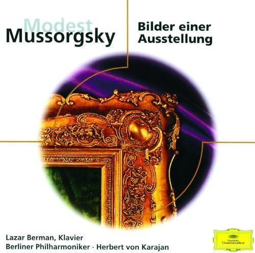 Lazar Berman, Berliner Philharmoniker, Herbert von Karajan & Modest Mussorgsky