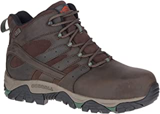 Merrell Men's, Moab Vertex Mid Waterproof Comp Toe Espresso 13 M