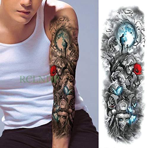tzxdbh 3Pcs-Tattoo Sticker Pegatinas de Tatuaje para Hombre ...