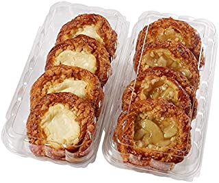Evaxo Apple/Cheese Danish, 1 pk. / 8 ct