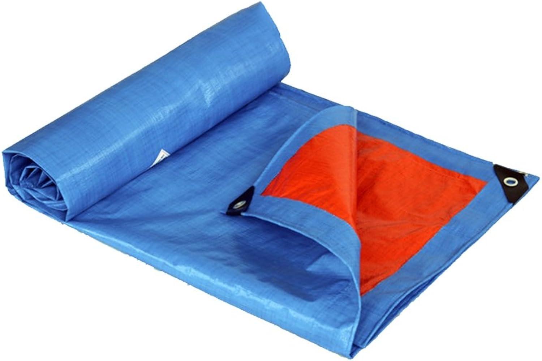 IAIZI Plane-blaues Sonnenschutzmittel-Planen-Linoleum, Sonnenschutzmittel-Planen-Linoleum, Sonnenschutzmittel-Planen-Linoleum, das internen und externen wasserdichten im Freienlastwagen-Antikorrosions-Antialtern-Plastik weich wäscht ( Farbe   BlauOrange , größe   410m ) B07MW1CKK3  Macht das Leben f0a252