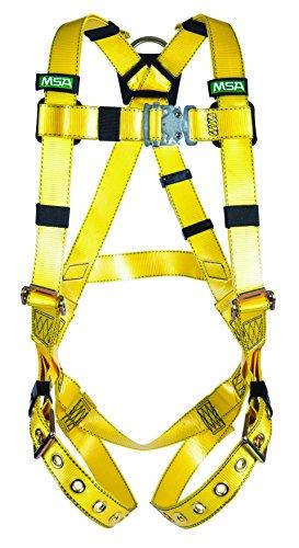 MSA 10155871 - Arnés con anilla en D (tipo chaleco, hebilla de lengua, estándar)