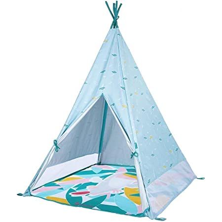 Badabulle Strandmuschel Strandzelt für Kinder und Familie UV-Schutz 50+