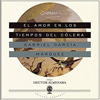Couverture de El Amor en los Tiempos del Cólera [Love in the Time of Cholera]