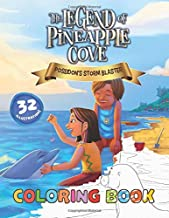 Coloring Book: Poseidon's Storm Blaster (The Legend of Pineapple Cove 1)