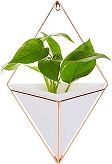 Pot de fleurs mural - Décoration murale géométrique - Pot