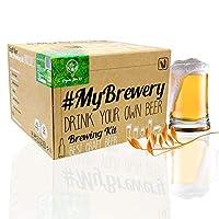 Avec le kit de brassage Bio Pilsen Ale vous brassez jusqu'à 5 litres de bière à la maison, simplement en 8 étapes qui rendent possible le brassage sans avoir besoin d'aucune connaissance préalable . Un cadeau parfait pour les amateurs de bière . Avec...
