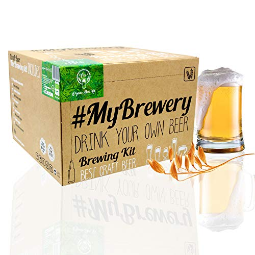 #Cervezanía MyBrewery Home Brewing Kit Bio Beer