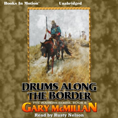 Drums Along the Border audiobook cover art