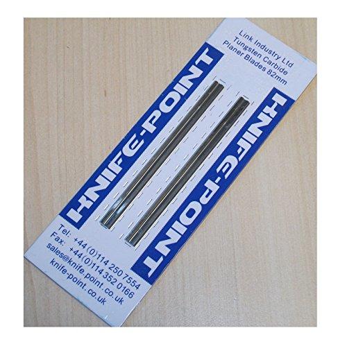 Recambio Reversible Cepillado Hojas (2 por Pack) (Para: Bosch PHO & GHO Cepilladoras) (Bosch Pt Número 2607000096) Punta De Carburo Alta Calidad Material, calidad 100% Garantizado