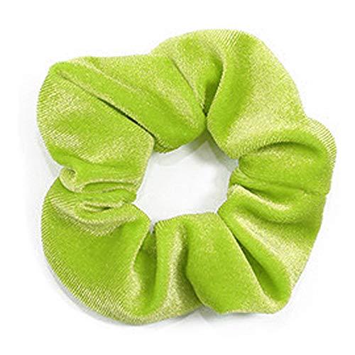 mookey kingwang Hair Scrunchies Velluto Elastici Cerchio Decorazione per Capelli Conciso