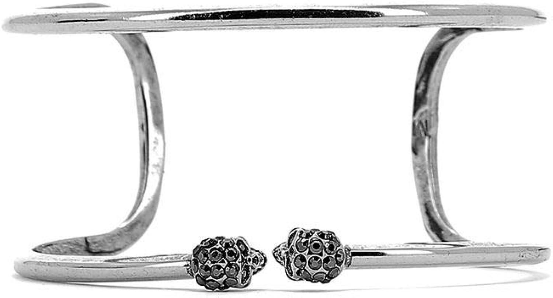 Alexander Mcqueen Women's 553654J160Y11770446 Silver Metal Bracelet