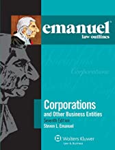 Emanuel Law Outlines for Corporations (Emanuel Law Outlines Series)
