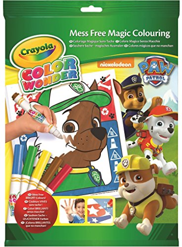 Crayola Color Wonder - 75-2298-E-000 - Kit de Pat Patrouille