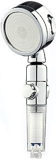 シャワーヘッド 増圧 3段階モード 手元止水 節水 耐久性 水量調節 極細水流 軽量 バスグッズ 水漏れ防止 高水圧 工具不要 取り付け簡単 タイプ1