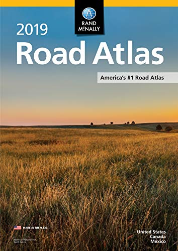 2019 Rand McNally Road Atlas (Paperback)  $6.19 at Amazon