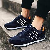 Women's Air Running Shoes,Correr por senderos,Calzado Deportivo Calzado Casual más Malla de Terciopelo Zapatillas Transpirables para Correr-Azul Mesh_40#