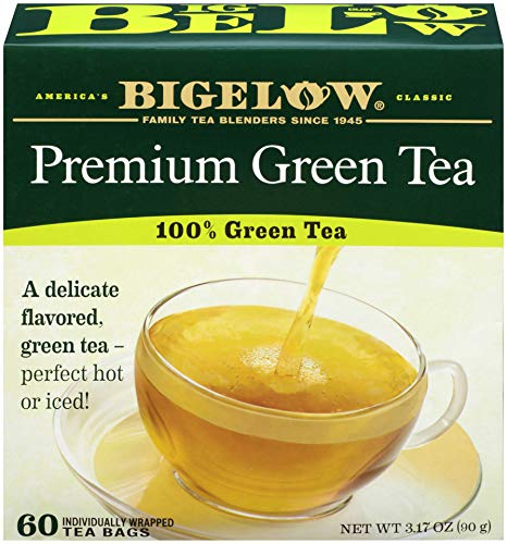 Quantity limited Bigelow Tea Green 60 Count Detroit Mall Case Total 360 of Bags 6