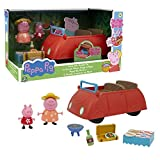 Giochi Preziosi Peppa Pig l'Automobile della Famiglia Pig con Suoni e 2 Personaggi