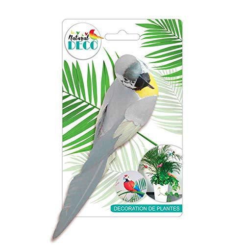 STC Déco Plantes – Grand Oiseau Blanc CD3824