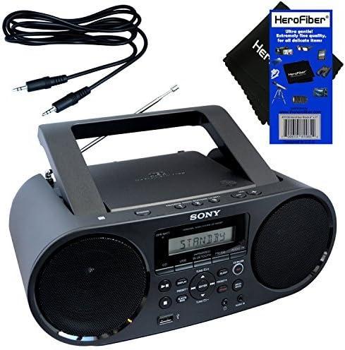 Sony Bluetooth & NFC (Near Field Communications) MP3 CD/CD-R/RW Portable MEGA BASS Stereo Boombox with Digital Radio ...