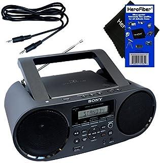 Sony Bluetooth & NFC (Near Field Communications) MP3 CD/CD-R/RW Portable MEGA BASS Stereo Boombox with Digital Radio AM/FM...