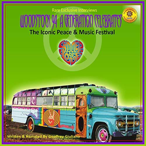 Woodstock 94: A Generation Celebrates audiobook cover art