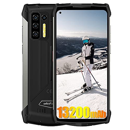 Robustes Smartphone Ulefone Power Armor 13, 13200mAh Akku, 8GB + 256GB, 48MP + 16MP Kamera, Helio G95 6.81