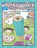 APRENDER REPASANDO: Letras - Personajes - Formas - Colorear: Libro de...