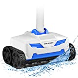 PAXCESS Pool Suction Cleaner,Automatic Pool Vacuum Cleaner,Climbing Wall,360°Rotate Deep Cleaning,20x19.7 Air-Proof Hoses,4-Wheel Gear Drive,Suit for 1076.39 sq ft for Inground Pool with Pump