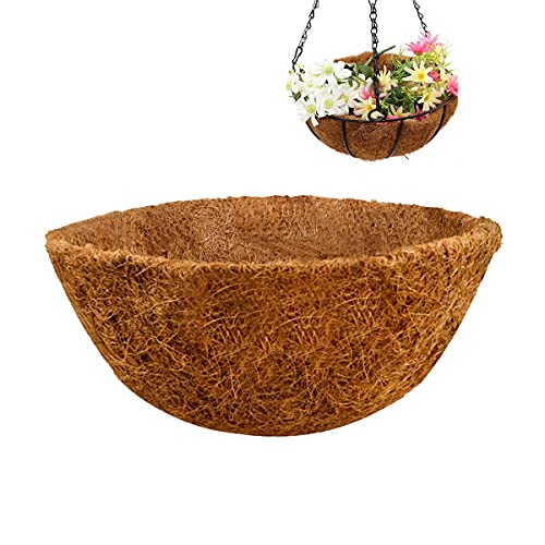 Ledeak Cesta Colgante para Plantas , 2 Colgadores de Fibra de Coco de Macramé Soporte para Plantas...