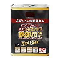 ニッペ 高耐久シリコン樹脂塗料 油性シリコンタフ チョコレート 3.2L