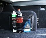 Ferocity Organizadores universales de la Red del Almacenamiento para el Tronco del camión del Coche con la Cinta auta-Adhesivo 40 x 20 cm de Ancho [058]