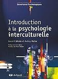 Introduction à la psychologie interculturelle