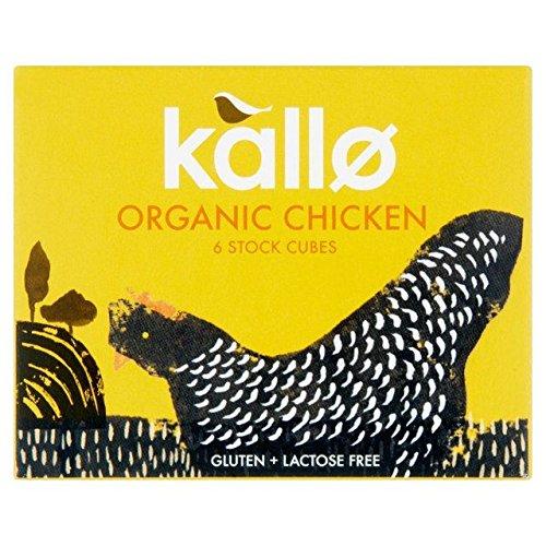 Kallo Rare Limited price Organic Chicken Stock Cubes 11g - 6 x